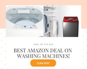 Best amazon deal washing Machines!