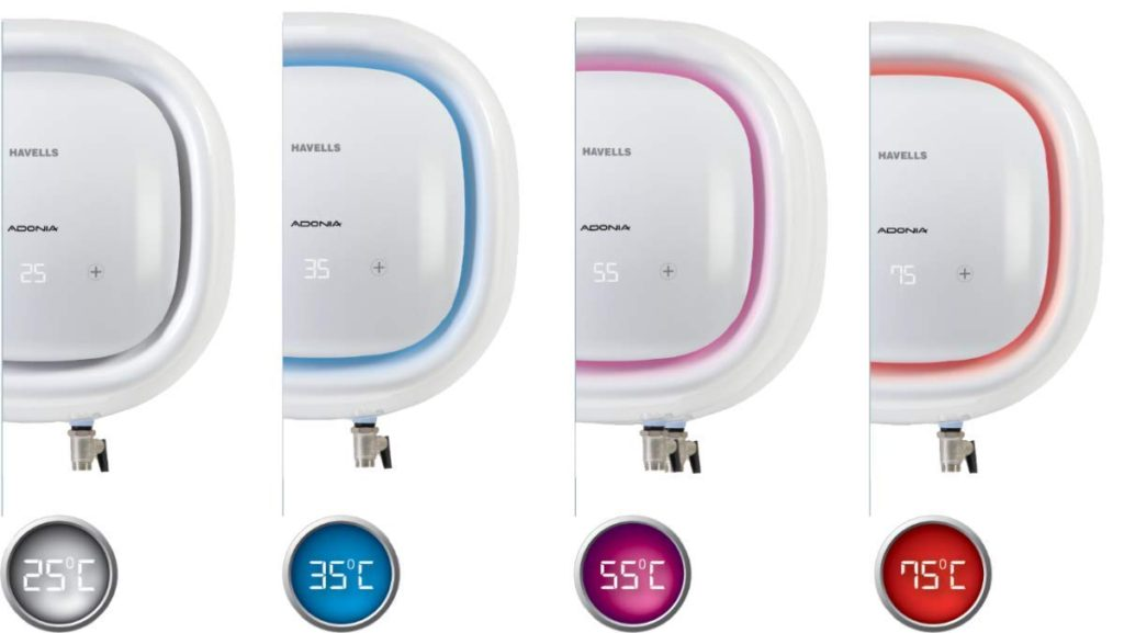 Havells Adonia R Digital 25 Liters With Remote -close