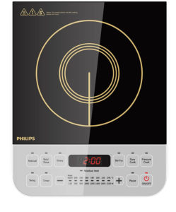Philips Viva Collection HD4928 01 2100-Watt Induction Cooktop