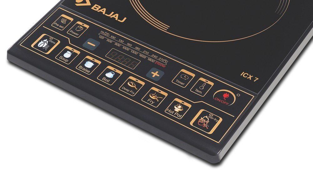 bajaj induction stove
