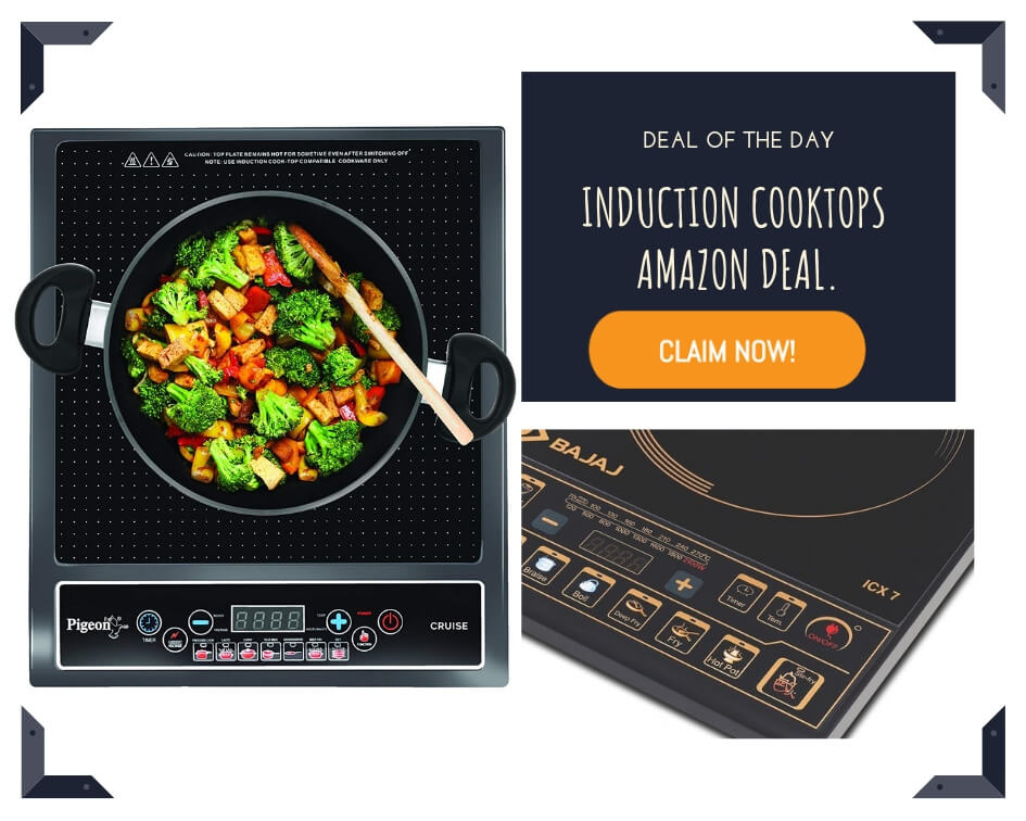 induction cooktops amazon deal.
