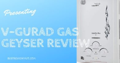 v guard gas geyser review