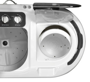 whirlpool spin and wash