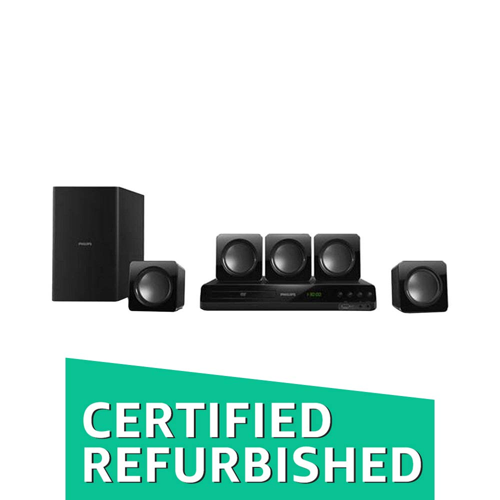 Philips 5.1 HTD3509 94 DVD Home Theater Speaker (CERTIFIED REFURBISHED)