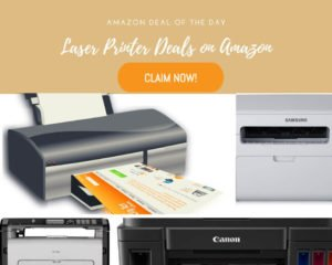 Laser Printer Deals on Amazon