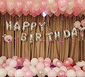Happy birthday foil letter balloon