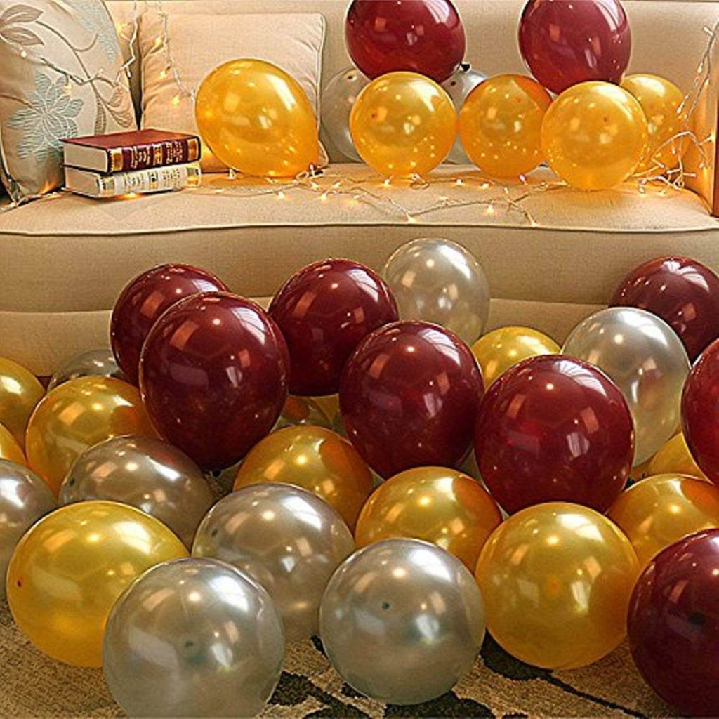 Latex metallic HD balloons