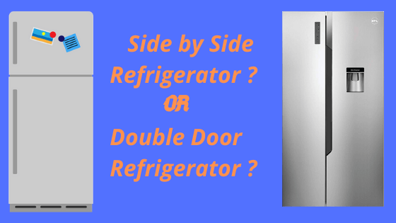 side by side or double door