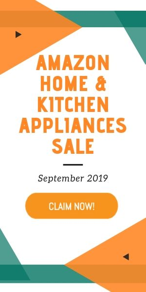 Amazon Home and Kitchen Appliances Sale